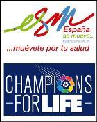 """España se Mueve"" se suma al partido ""Champions for Life"""