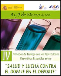 IV Jornadas de trabajo sobre la salud y la lucha contra el dopaje